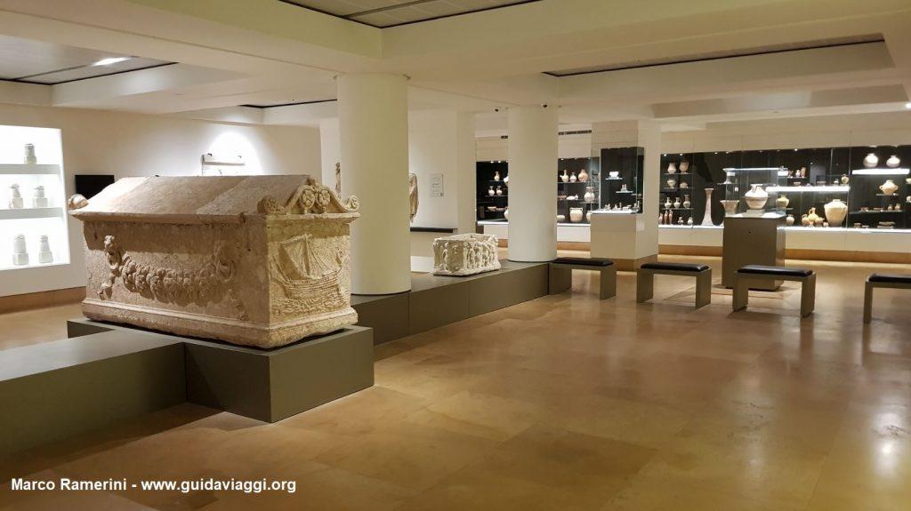 Le musée national de Beyrouth, Liban. Auteur et Copyright Marco Ramerini