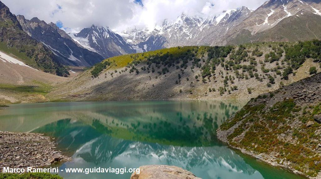 Le Lac Rama et le Nanga Parbat, Pakistan. Auteur et Copyright Marco Ramerini